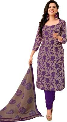 Nikshi Cotton Printed Salwar Suit Dupatta Material