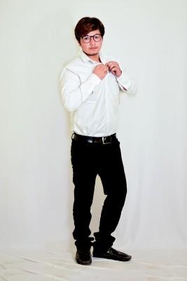 Blazingstore Cotton Solid Shirt Fabric, Trouser Fabric