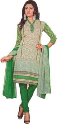 Giftsnfriends Synthetic Printed Salwar Suit Dupatta Material