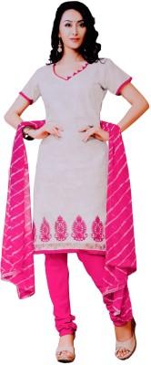 Vamakshi Chanderi, Chiffon Solid Salwar Suit Dupatta Material