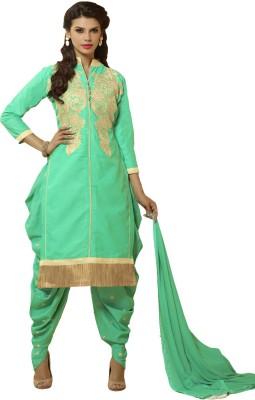 Meghali Cotton Embroidered Salwar Suit Dupatta Material