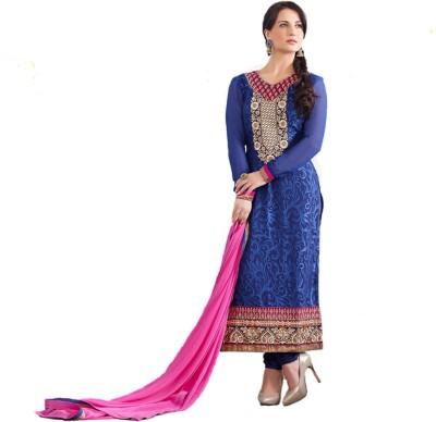 ANB Brasso Self Design Salwar Suit Dupatta Material