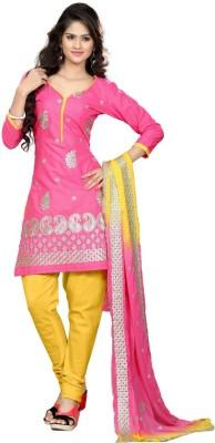 Styles Closet Cotton Embroidered Salwar Suit Dupatta Material