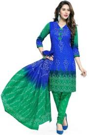 Merito Cotton Printed Salwar Suit Material, Suit Fabric, Kurta & Churidar Material, Dress/Top Material, Kurta Fabric, Salwar Suit Dupatta Material(Un-stitched)