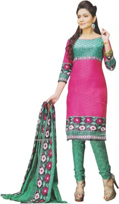 Lifestyle Unstitched Cotton Dress Material Cotton Self Design Salwar Suit Dupatta Material