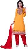 Krizel Trendz Cotton Embellished Dress/T...