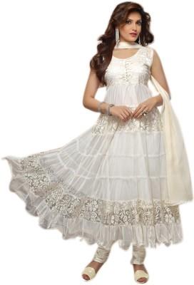 Treadindia Georgette Self Design Salwar Suit Dupatta Material