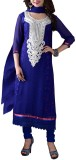 Jabudi Creation Georgette Embroidered Se...