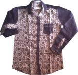 Keller Cotton Self Design Shirt Fabric (...
