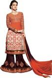 Vibes Georgette Self Design Salwar Suit ...