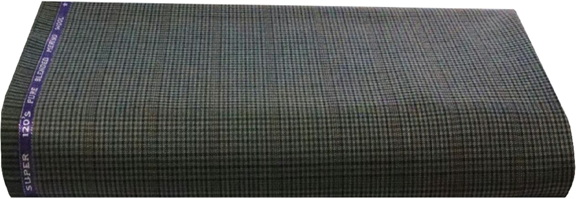 Ivo Gini Wool Checkered Salwar Suit Dupatta Material(Un-stitched)
