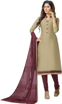 Melluha Chanderi Printed Salwar Suit Dupatta Material