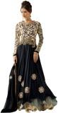 Vwaan Fashion Georgette Embroidered Semi...