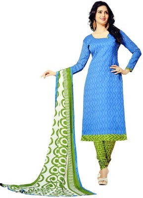 RSS Dress Material Cotton Printed Dress/Top Material(Un-stitched)