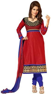 Morli Cotton Embroidered Salwar Suit Dupatta Material