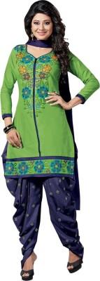 Fladorfabric Cotton Self Design Salwar Suit Dupatta Material