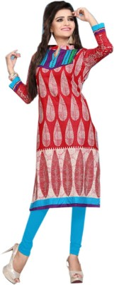 Nakoda Trading Cotton Self Design Kurti Fabric