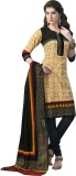 Aarvi Cotton Linen Blend Printed Dress/T...