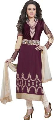 Parisha Cotton Embroidered Salwar Suit Dupatta Material
