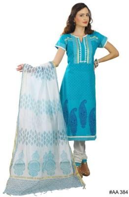 CultureStitch Cotton Silk Blend Printed Salwar Suit Dupatta Material
