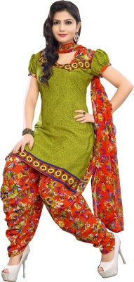 Shoppie Zone Cotton Printed Salwar Suit Dupatta Material