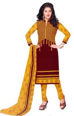RS GANESH GARMENTS Cotton Printed Salwar Suit Dupatta Material