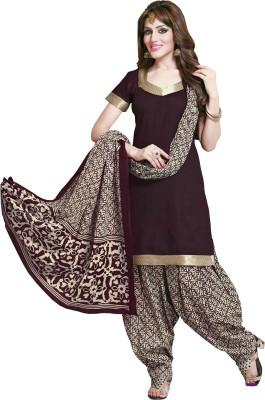 Heartzboutique Cotton Embroidered Salwar Suit Dupatta Material