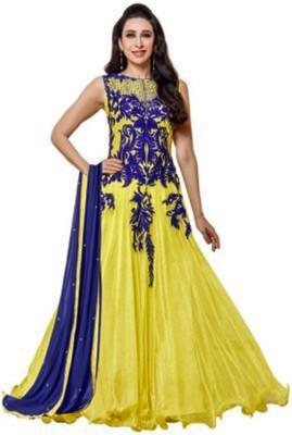 Parabdhani Fashion Net Embroidered Salwar Suit Dupatta Material