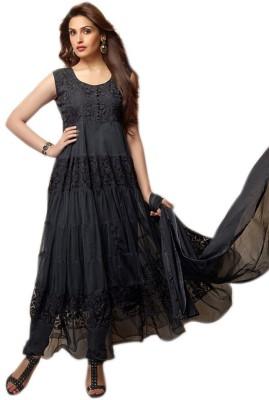 Parisha Brasso Self Design Salwar Suit Dupatta Material