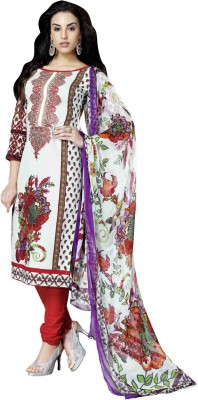 Admyrin Cotton Printed Dress/Top Material