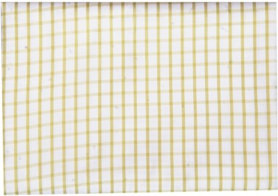 B S Garments Cotton Polyester Blend Checkered Shirt Fabric