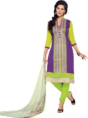 Meghali Chanderi Solid Salwar Suit Material
