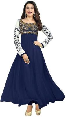 Tulsi Trendz Georgette Embroidered Salwar Suit Dupatta Material