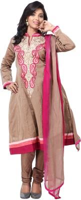 Aapno Rajasthan Cotton, Silk Printed Semi-stitched Salwar Suit Dupatta Material