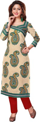 RK Style Cotton Printed Kurti Fabric
