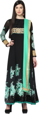 Yepme Cotton Polyester Blend Embroidered Salwar Suit Dupatta Material(Un-stitched) at flipkart