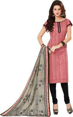 Porwal Bros Chanderi Embroidered Salwar Suit Dupatta Material