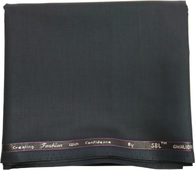 Gwalior Suitings Cotton Polyester Blend Striped Trouser Fabric