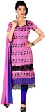 Jiya Chanderi Self Design, Embroidered S...