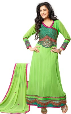 Bunny Sarees Georgette Embroidered Salwar Suit Dupatta Material
