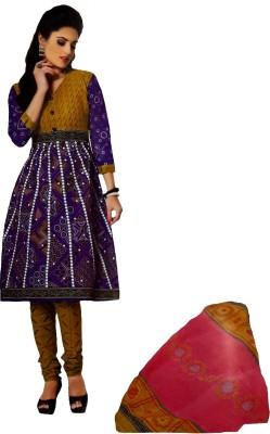 Laaddo Cotton Printed Salwar Suit Material