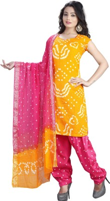 Keeps Creation Cotton Self Design Salwar Suit Dupatta Material