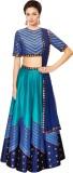 Jassu Fashion Hub Silk Printed Semi-stit...