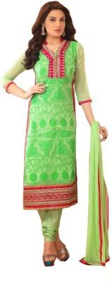 Diva Divine Georgette Embroidered Salwar Suit Dupatta Material