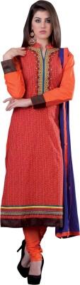 Saara Cotton Embroidered Salwar Suit Dupatta Material