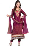 Styles Closet Net Embroidered Salwar Sui...