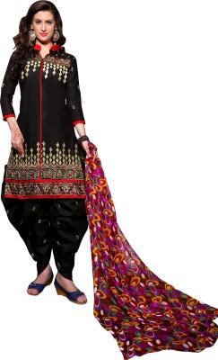 SHS Cotton Embroidered Salwar Suit Dupatta Material