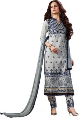 Belletouch Cotton Embroidered Salwar Suit Dupatta Material