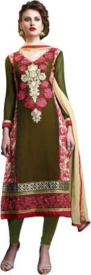 Khoobee Georgette Self Design, Embroidered Salwar Suit Dupatta Material
