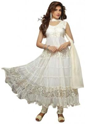 Tulsi Nx Georgette Self Design Dress/Top Material